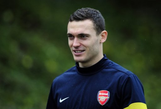 Arsenal captain Thomas Vermaelen, pictured on November 20, 2012
