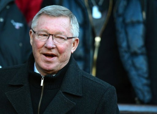 Manchester United manager Alex Ferguson pictured before a Premier League at Old Trafford on December 15, 2012