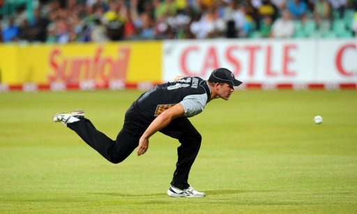 New Zealand cricketer Corey Anderson is seen December 21, 2012