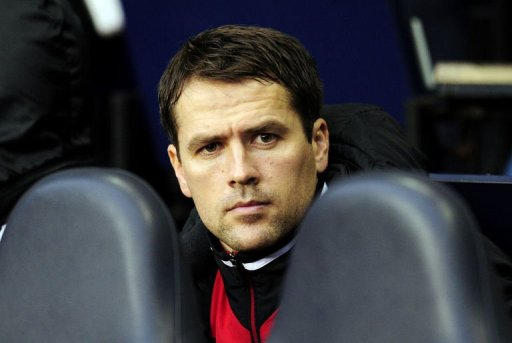 Stoke City's striker Michael Owen in London on December 22, 2012