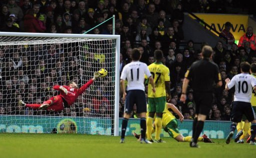 Chelsea's Juan Mata scores the only goal at Carrow Road on December 26, 2012