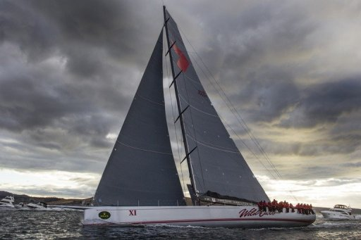 Wild Oats XI smashed its own record time by nearly 17 minutes in taking line honours on December 28, 2012