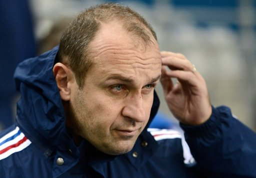 France coach Philippe Saint-Andre, pictured on November 23, 2012