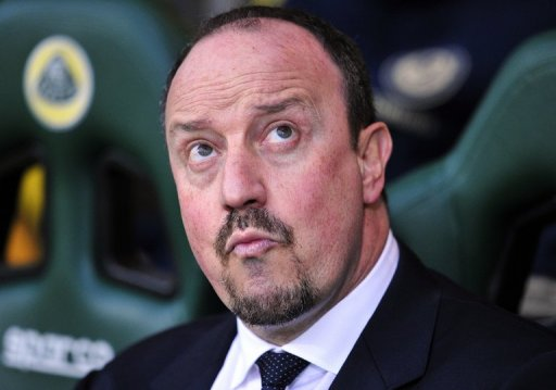 Rafael Benitez, pictured before Chelsea vs Norwich City match at Carrow Road stadium in Norwich, on December 26, 2012