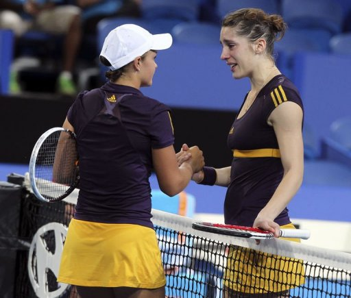 Andrea Petkovic's hopes of playing at the Australian Open were dashed after suffering a knee injury on December 29, 2012