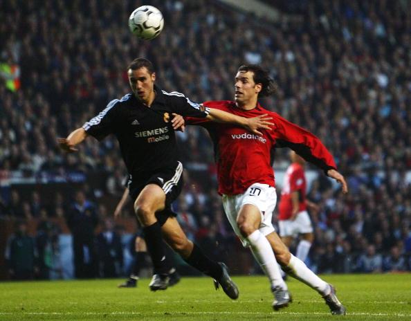 Ruud Van Nistelrooy and Ivan Helguera