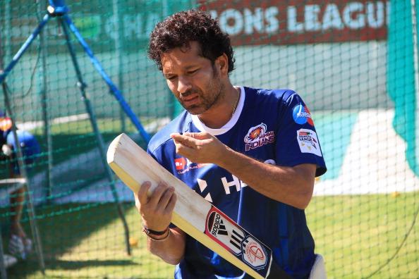 CLT20 2012 Champions League Twenty20 - Mumbai Indians training