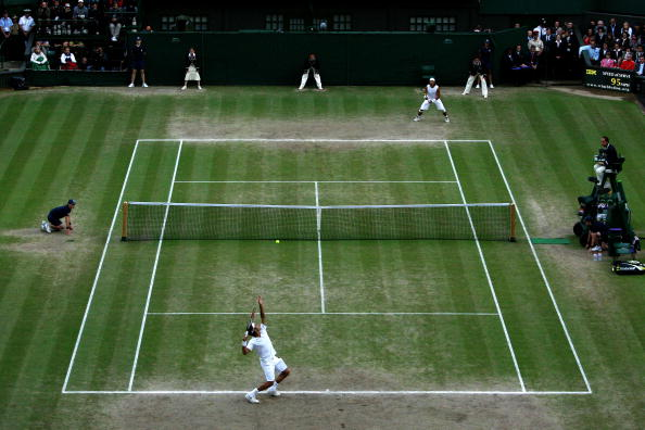 Image result for wimbledon men's final 2008