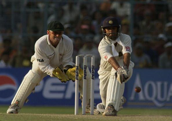 India v Aust X Dravid