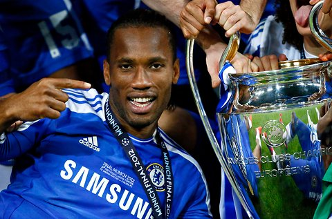 "Drogba, ""The King"""