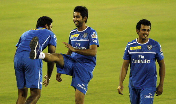 Deccan Chargers Practice Session