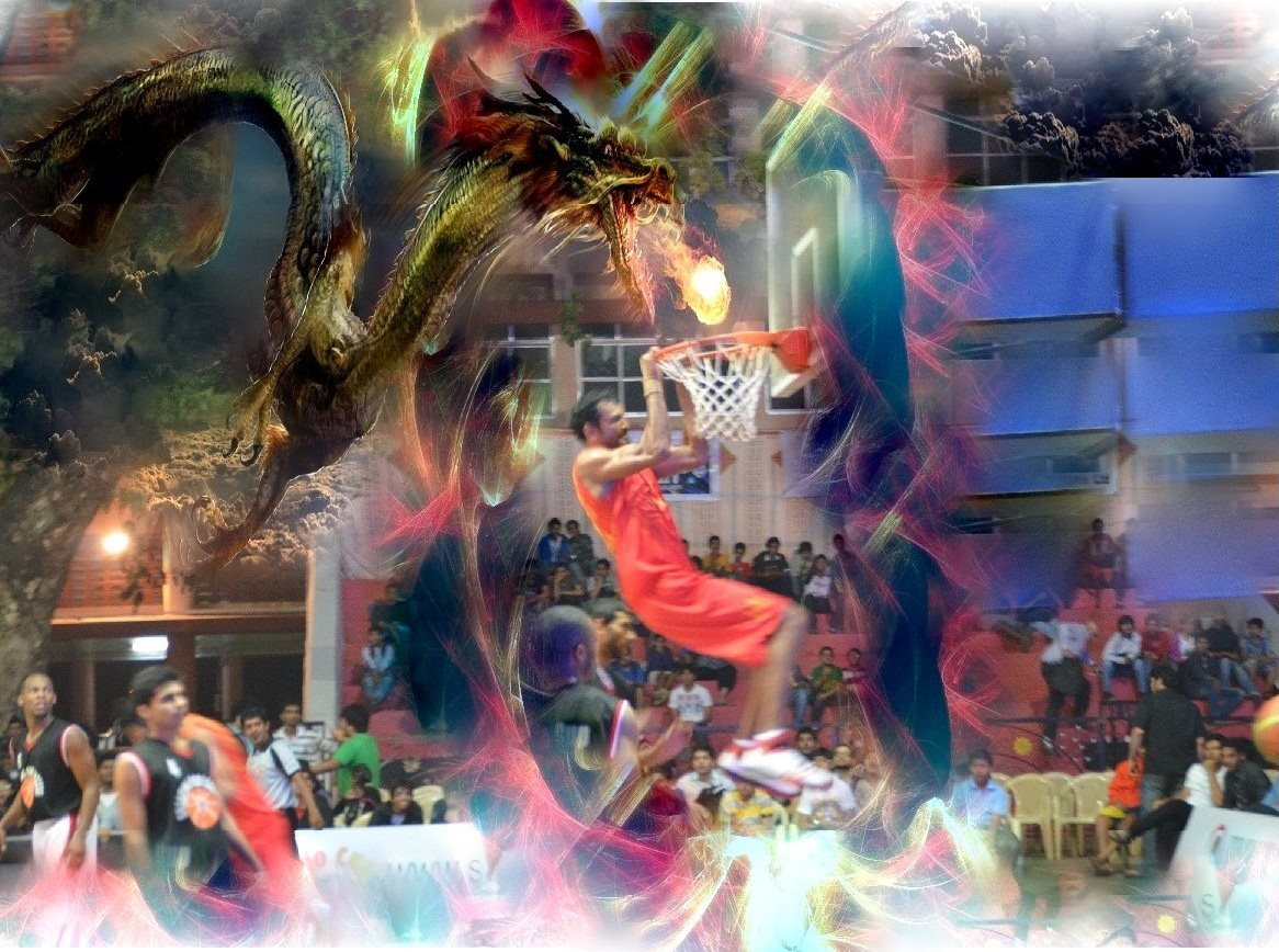 Captain Murali, dragon dunker