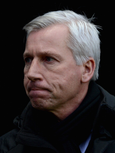 Alan Pardew - feeling the chill?