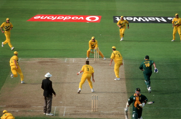 1999 cricket world cup australia vs south africa