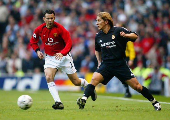 Real Madrid Vs Manchester United A Match To Match 2003