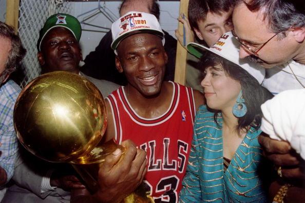 0101002P 1991 NBA FINALS JORDAN