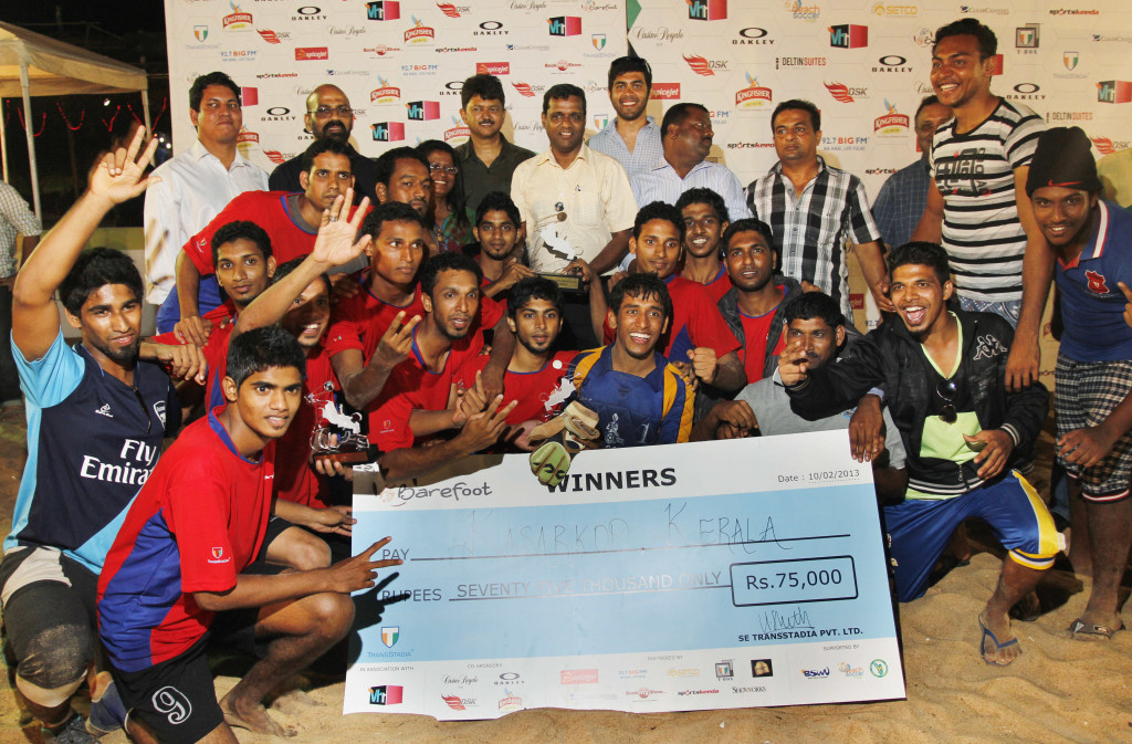 Kasarkod Kerala - worthy winners of Barefoot 2013