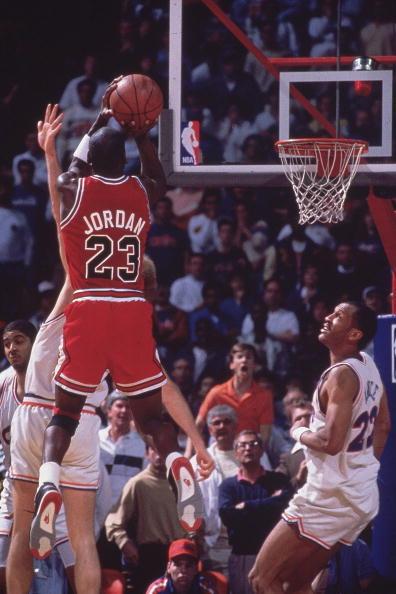 7efbbebe611 Chicago Bulls Michael Jordan, 1989 NBA Eastern Conference Finals 8.