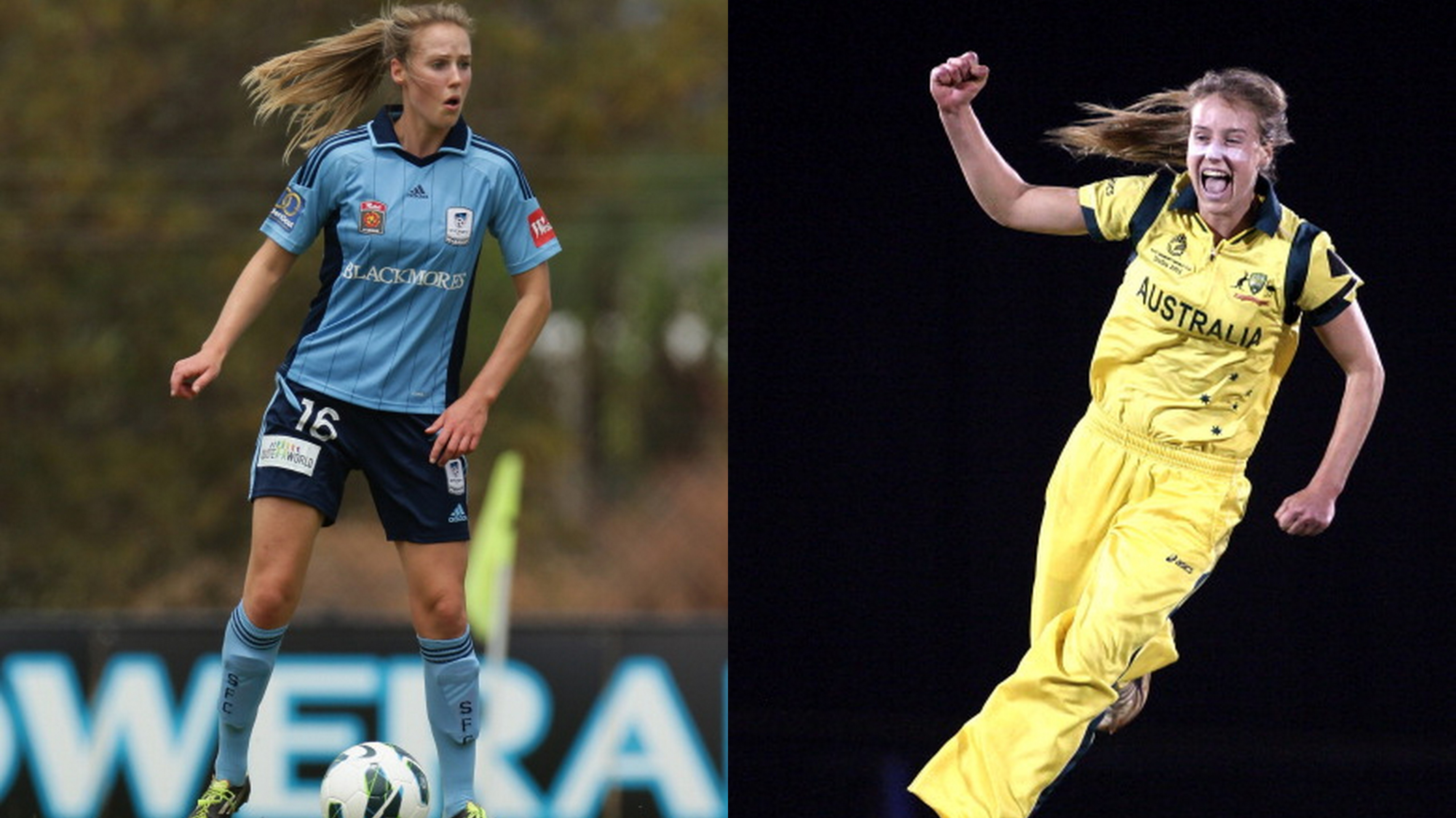 Ellyse Perry Australian Star Who Plays Both Football And