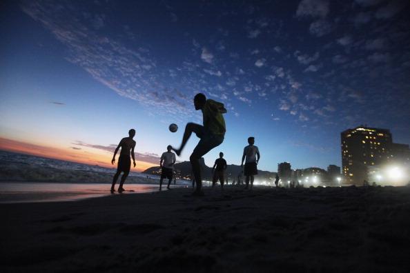 Rio Revels During Carnival Celebration