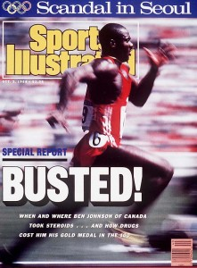 Sports Illustrated 's October 3, 1988 issue about the iconic Ben Johnson's doping revelations