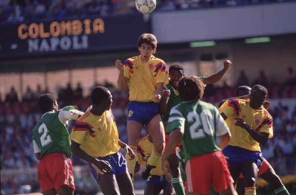 Colombia Andres Escobar, 1990 World Cup