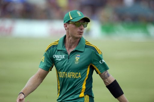 Dale Steyn, pictured on January 25, 2013, is the current #1 bowler on the International Cricket Council rankings' list