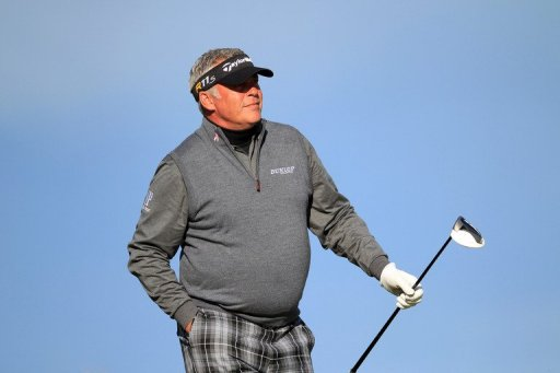 Darren Clarke, pictured during the Alfred Dunhill Links Championship at Kings Barns in St Andrews, on October 5, 2012