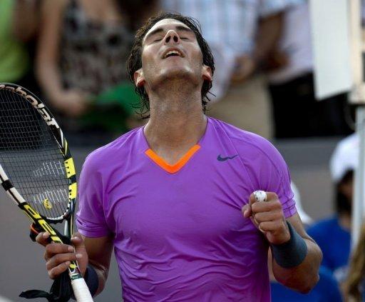Nadal advances to semis in comeback event