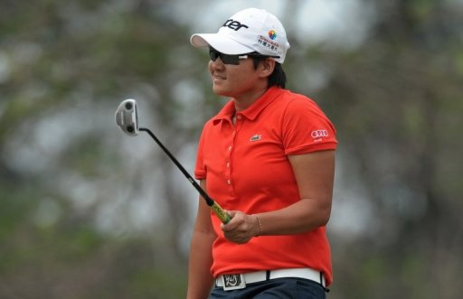 Tseng Yani says smiling as she plays has lifted her golf game.