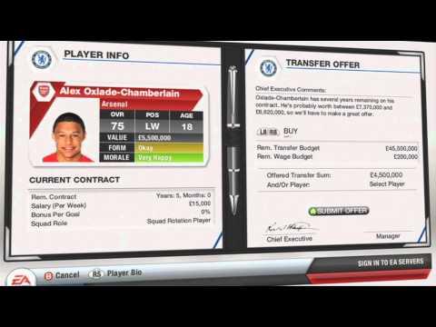 FIFA 13 Transfer Deal