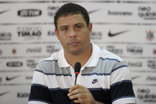 Brazilian football star Ronaldo, of Cori