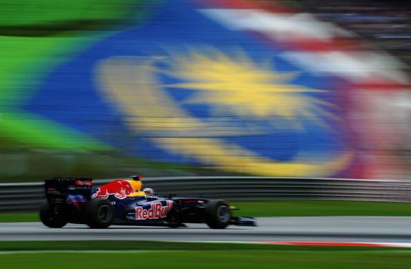 Malaysian F1 Grand Prix - Race