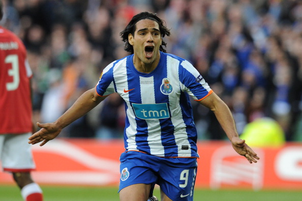 FC Porto's Colombian forward Falcao cele