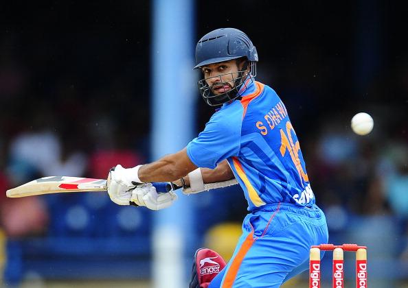 TOPSHOTSIndian batsman Shikhar Dhawan p