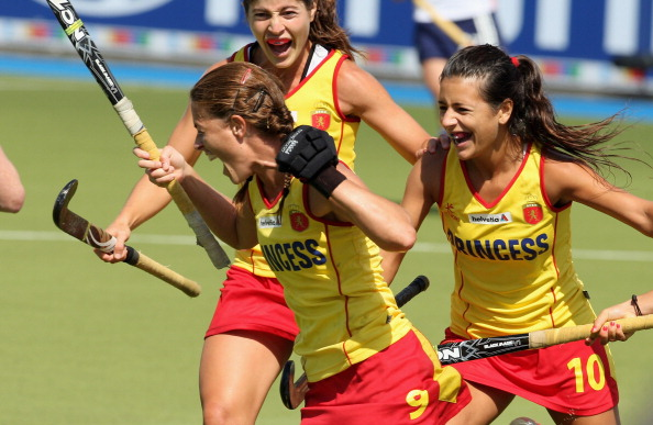 England v Spain - Women's EuroHockey 2011