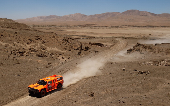 File Photo of the Dakar Rally during the Peru stage. (Getty Images)