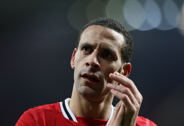 When your happy and you know it, clap yoir hands: Rio Ferdinand
