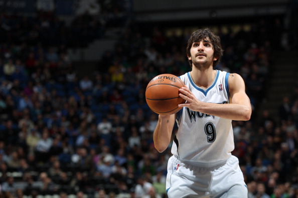 Ricky Rubio #9 of the Minnesota Timberwolves was impressive on the night with 17 points and 7 assists. (Getty Images)