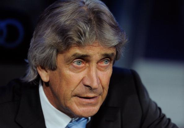 Malaga coach Manuel Pellegrini.