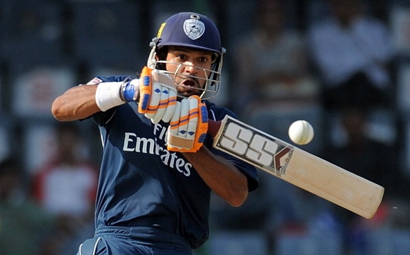 File Photo of Shikhar Dhawan, who scored an impressive century on his Test debut against Australia (Getty Images).