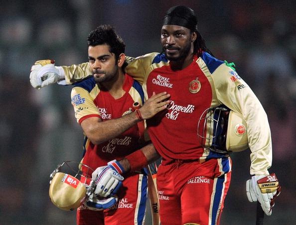 Royal Challengers Bangalore batsman Chri