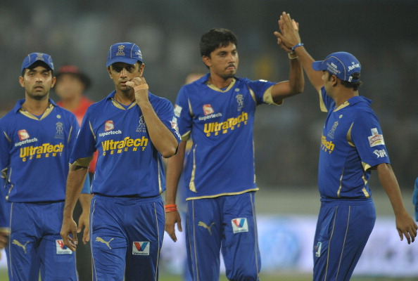 Rajasthan Royals bowler Sidharth Trivedi