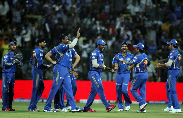 Mumbai Indians Vs Chennai Super Kings - IPL 2012