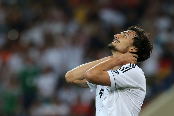 Mats Hummels of Germany and Borussia Dortmund. (Getty Images)