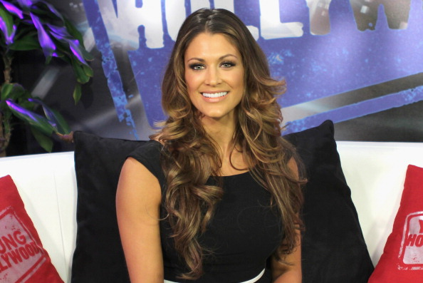 Eve Torres Visits the Young Hollywood Studio