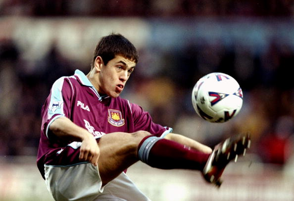 Joe Cole in his West Ham days