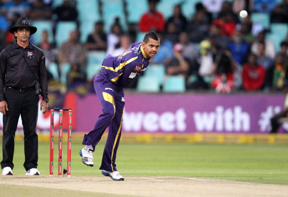 Sunil Narine was the pick of the KKR bowlers last season. (Getty Images)