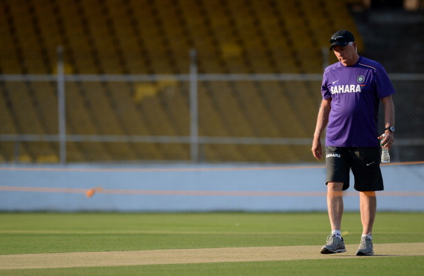 Indian cricket coach Duncan Fletcher (Getty Images)