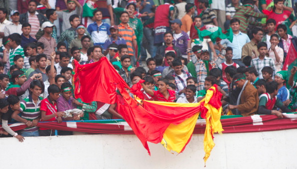 Violence At Football Match In Kolkata